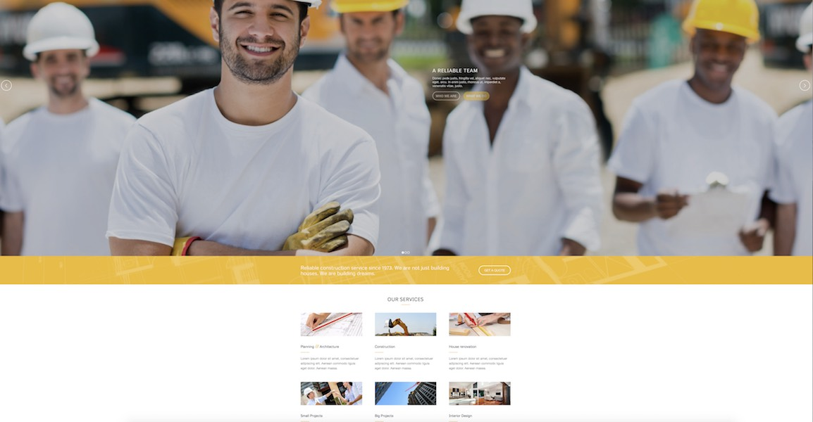 Darstellung der Wordpress_Thememarketing mix mit Webdesign und Enfold-Demo