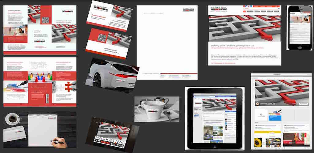 Demonstration des Corporate Identity _ marketing-on-line.de